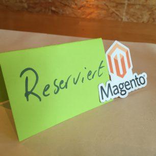 Reserviert-Magento-Stammtisch
